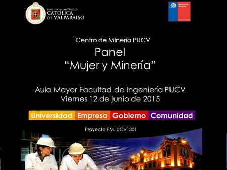 Aula Mayor Facultad de Ingeniería PUCV