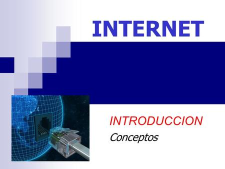 INTERNET INTRODUCCION Conceptos. ¿ Red ? Una red es un conjunto de computadoras interrelacionadas. Red de Área Local L.A.N. Red de Área Amplia W.A.N.
