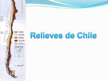 Relieves de Chile.