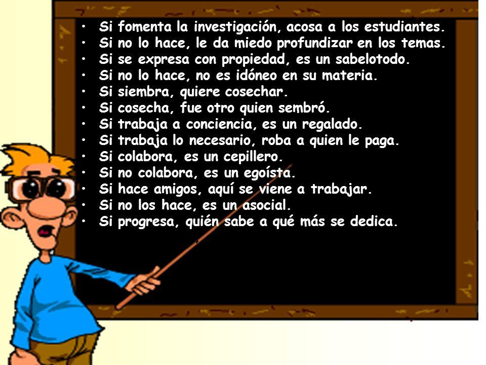 Conclusión:Conclusión: Ser Rector, Coordinador, Profesor, requiere: La sabiduría de SALOMÓN.