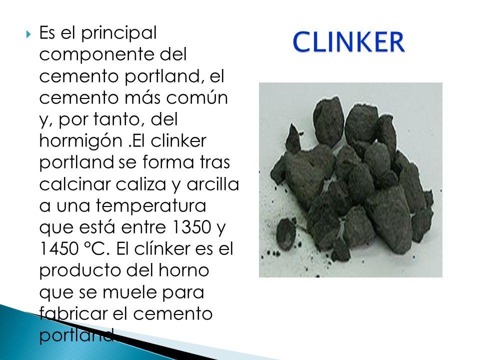 LOS COMPONENTES POTENCIALES O HIDRÁULICOS DEL CEMENTO el silicato tricálcico (SC3) es el responsable del endurecimiento rápido.