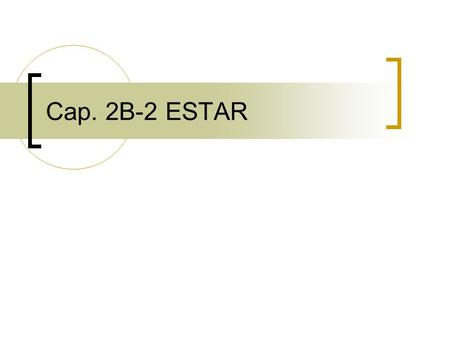 Cap. 2B-2 ESTAR. Bell Ringer Complete each sentence with the correct form of estar.
