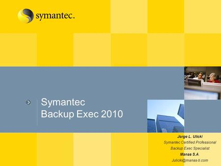 Symantec Information integrity - Montevideo Abril