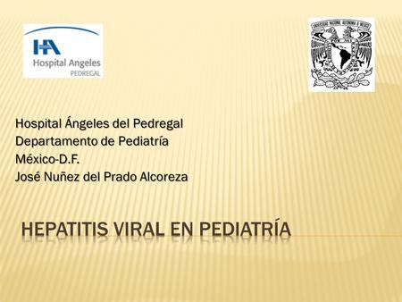 Hepatitis viral en pediatría