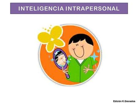 INTELIGENCIA INTRAPERSONAL