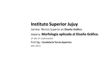 Instituto Superior Jujuy