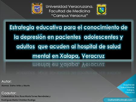 Universidad Veracruzana.