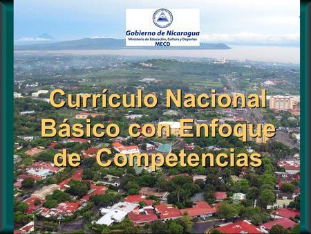 Curr culo basado en competencias aproximaci n al estado for Curriculo basico nacional