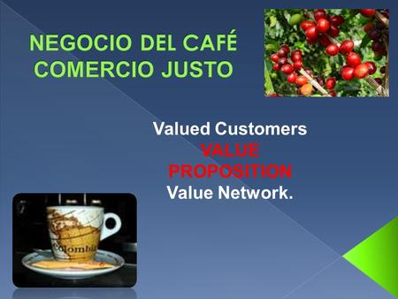 Valued Customers VALUE PROPOSITION Value Network..