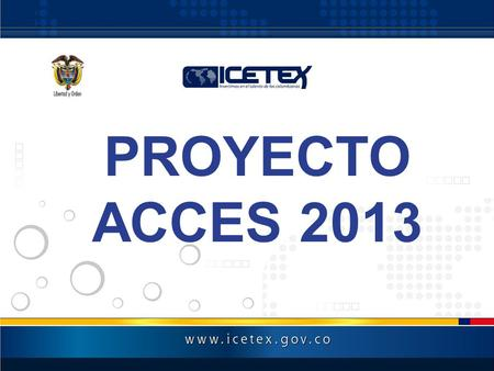 PROYECTO ACCES 2013.