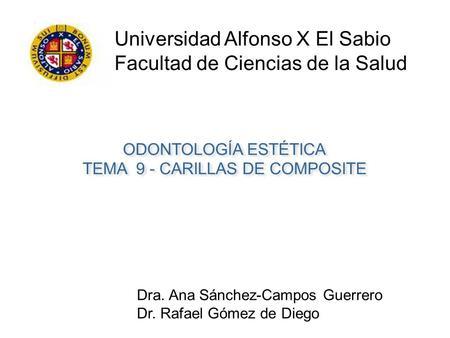 estudio universidad alfonso x sabio: