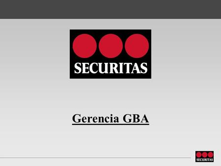 Gerencia GBA.