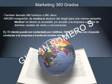 GIBRAN ROMERO S Marketing 360 Grados