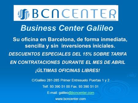 Business Center Galileo
