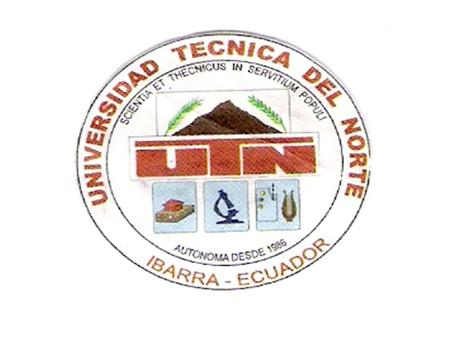 UNIVERSIDAD TÉCNICA DEL NORTE INSTITUTO DE POSTGRADO 1.