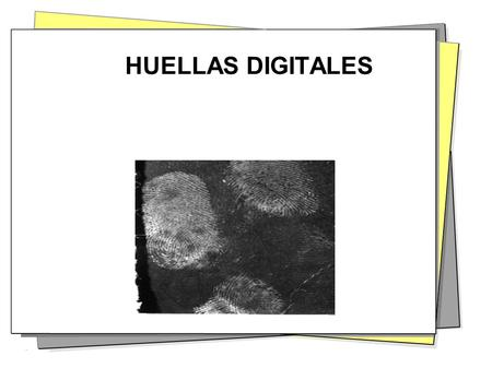 HUELLAS DIGITALES.