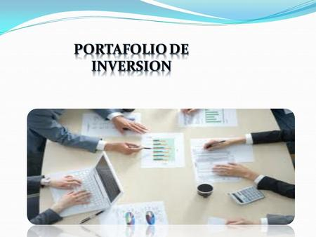 Portafolio de inversion