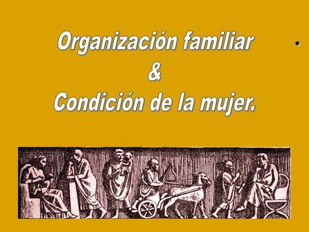 Organización familiar