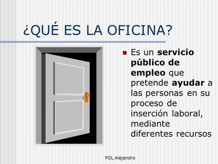 Bolet n digital centro de informaci n juvenil ppt descargar for Oficina empleo parla
