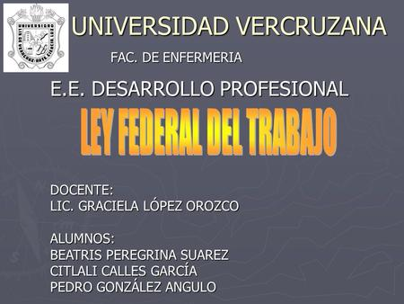 UNIVERSIDAD VERCRUZANA