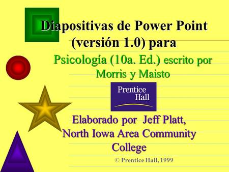 Diapositivas de Power Point (versión 1.0) para