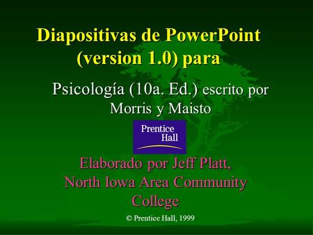 Diapositivas de PowerPoint (version 1.0) para