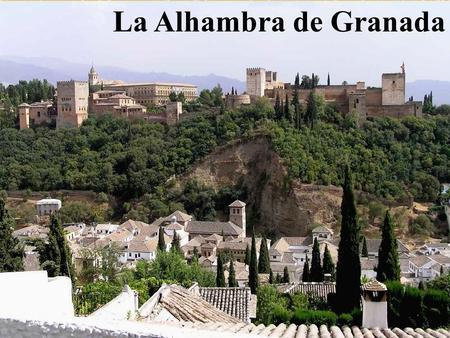 La alhambra caracter sticas es una ciudad amurallada for Jardines de alberto granada