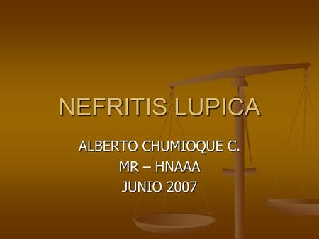 ALBERTO CHUMIOQUE C. MR – HNAAA JUNIO 2007