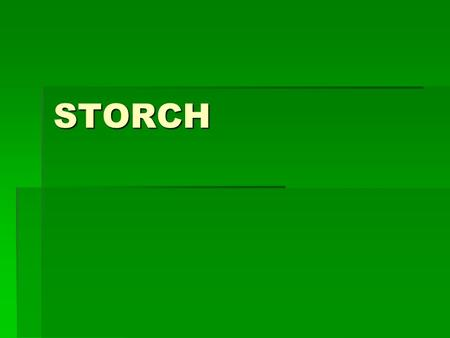 STORCH.