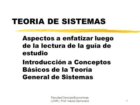 Fac. Cs.Economicas y Estadistica UNR