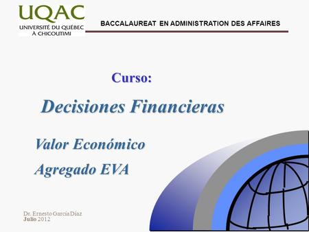 Decisiones Financieras