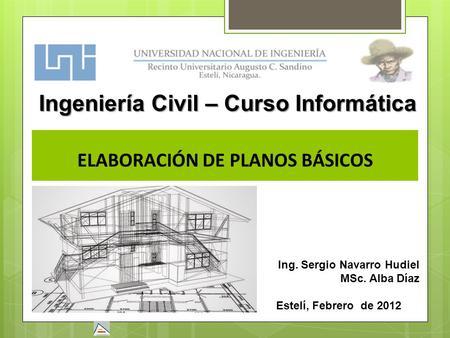 Factores que determinan la calidad del dibujo ppt descargar for Planos ingenieria civil