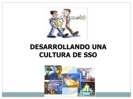 DESARROLLANDO UNA CULTURA DE SSO.  VIDEO.