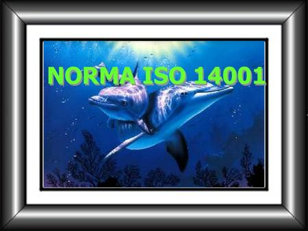 NORMA ISO 14001.