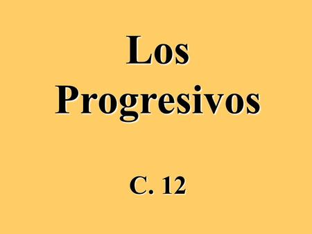 LosProgresivos C. 12. The Progressive Tenses are used to indicate that something is at that point in time in progress. It is made up of 2 parts: 1. conjugated.