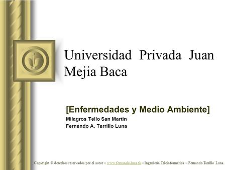 Universidad Privada Juan Mejia Baca