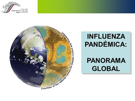 INFLUENZA PANDÉMICA: PANORAMA GLOBAL.