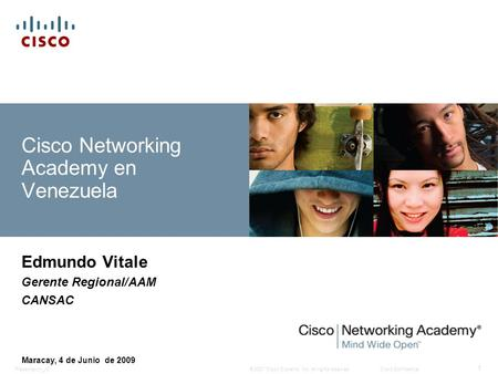 Cisco Networking Academy en Venezuela