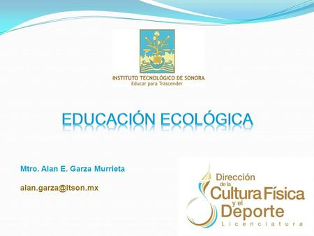 Mtro. Alan E. Garza Murrieta
