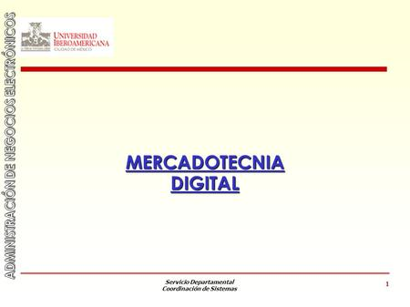 MERCADOTECNIA DIGITAL