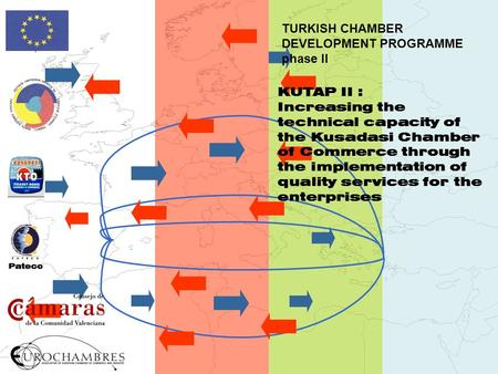 TURKISH CHAMBER DEVELOPMENT PROGRAMME phase II KUTAP II : Increasing the technical capacity of the Kusadasi Chamber of Commerce through the implementation.