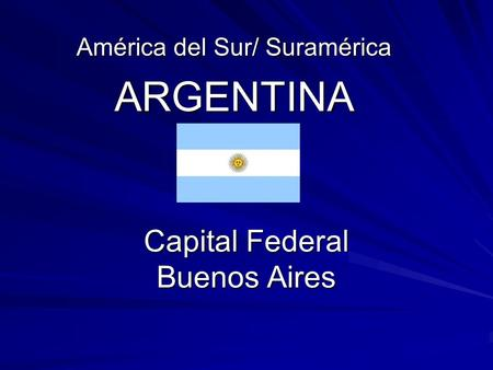 Capital Federal Buenos Aires