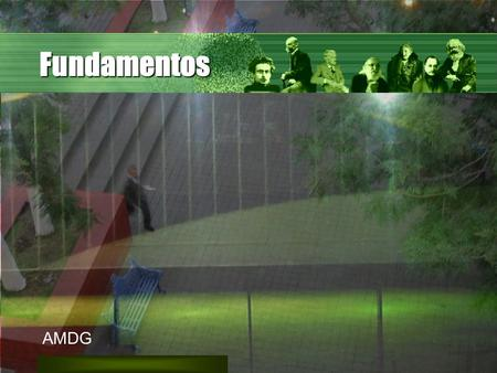 Fundamentos AMDG.