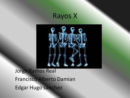 Jorge Ramos Real Francisco Alberto Damian Edgar Hugo sanchez