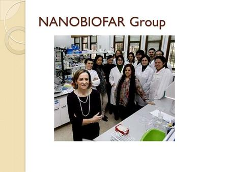 NANOBIOFAR Group.