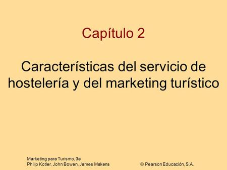 Marketing para Turismo, 3e