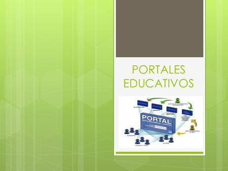 PORTALES EDUCATIVOS.