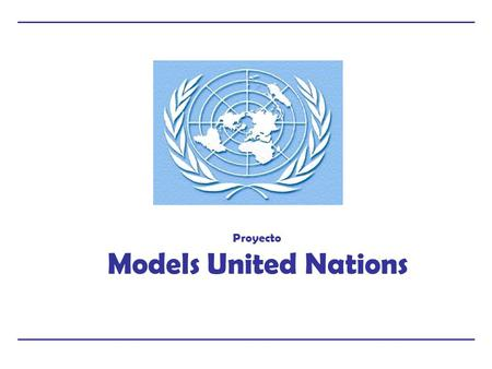 Proyecto Models United Nations