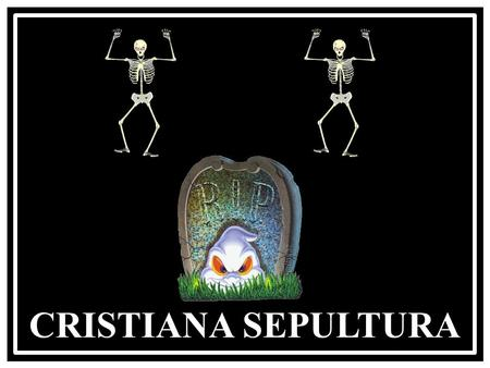 CRISTIANA SEPULTURA The Munsters Theme Halloween.