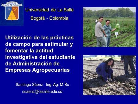 Universidad de la salle ppt descargar for Oficina del estudiante universidad de la rioja